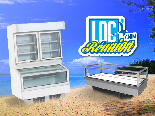Loc' Anim Réunion - vente de matériels frigorifiques et d'animation sur l'île de la Réunion