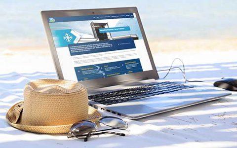 Site internet Loc' Anim Réunion : location et vente d'équipements frigorifiques et de promotion d'espaces de vente à la Réunion