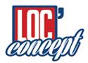 Notre entreprise : notre partenaire Loc Concept Réunion à Sainte Suzanne : logo mini